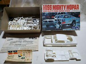 VINTAGE MPC MISS MIGHTY MOPAR JUDY LILLY'S CUDA SUPER STOCK 1/25 MODEL Started