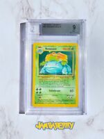 2000 POKEMON GAME VENUSAUR HOLO BASE SET 2 BGS MINT 9 WOTC STRONG 18/130 PSA