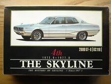 Aoshima 1:24 Scale 4th Nissan Skyline (72-77) 2000 GT-X Model Kit - New