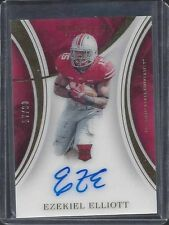 EZEKIEL ELLIOTT 2016 IMMACULATE COWBOYS OHIO STATE ON CARD ROOKIE AUTO RC #D /99