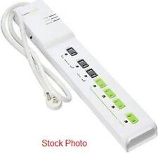 TrickleStar TS1104 7-Outlet Advanced Power Strip - Energy Saving PC+TV - NEW D25