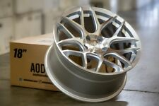 18X9 +30 AodHan LS002 5X100 Silver Wheel Fit DODGE NEON SRT4 FORESTER OUTBACK