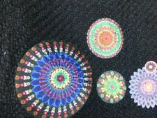 DESIGUAL Rock Gr Eu 42 Schwarz Flower Bunt Boucle Optik Wollrock NP 75,- NEU