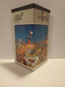 Vintage Loup / Heye Puzzle - Pauvre Flic- 1974 German Made - 750 Pieces