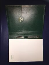 New Rolex Platinum & 22ct Gold Plated Masterpiece Ltd Edition Pen & Pad