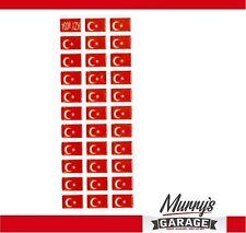 Turquie, türkiy, Ay Yildiz, Autocollants Set Étiquette Autocollant Sticker-mg034