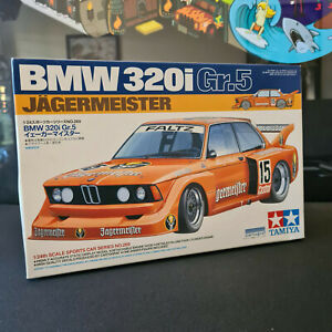 Tamiya 1/24 bmw 320i Gr.5 Jagermeister model kit perfect condition REDUCE