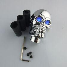Universal Blue LED Skull Car Truck Manual Gear Stick Shift Knob Lever Shifter