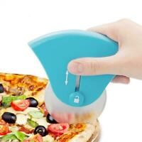 Retractable Stainless Steel Pizza Cutter Roller Knife Wheel Pizza Slicer Tools