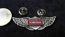 Yamaha logo pin badge wings double Butterfly