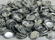 Large 195 Lot Metal Faux Pop Tops For Crafts Jewelry Supplies DIY Projects New