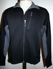 Ibex Vim Hybrid Climawool Black Gray Men's Jacket Sz Medium