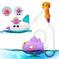 Baby Bath Toy - Submarine Sprayer Crab/octopus/Easy Grip Hand Shower Water Pump