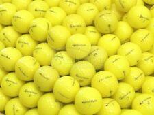 24 Mint TaylorMade Yellow Assorted Mix AAAAA Used Golf Balls - FREE SHIPPING
