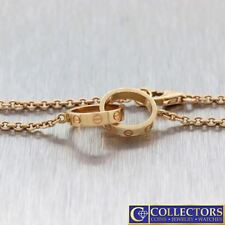Authentic Ladies Cartier Love 18k Rose Gold Love Chain Bracelet $1630 G8
