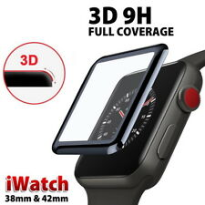 3D Full Cover Tempered Glass Screen Protector Film For Apple iWatch Series 5 4 3