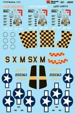 """Microscale Decals 1/72 P-51 Mustang - """"The Stars Look Down"""", """"Lucky Leaky II"""" &"""