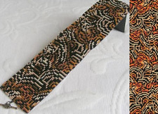 Loom Bead Pattern - Tiger Mutation Cuff Bracelet