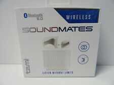 Tzumi SoundMates Wireless Stereo Earbuds Bluetooth 5.0 Sound Mates Earphone NEW