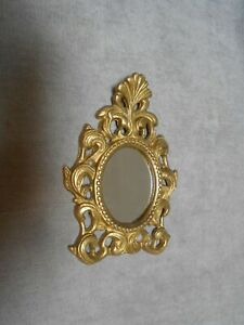 Vintage French Bronze ROCOCO WALL Mirror Holder