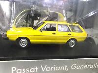 VW Volkswagen Passat MKI Variant Kombi gelb MKI Typ32 B1 SP Minichamps 1:43