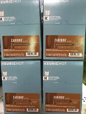 96 Count Caribou Blend Medium Roast K-Cups Best By March 17, 2018