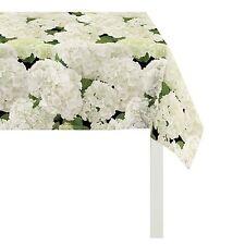 Tischdecken mit Natur- & Blumenmuster aus 100% Baumwolle