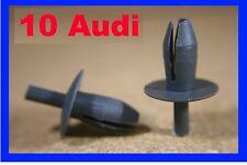 10 Audi wheel arch mud guard flaps lining fastener retainer push rivet clips