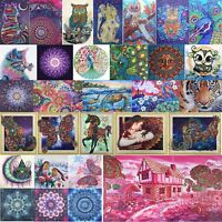 5D DIY Special Shape Diamond Painting Peafowl Cross Stitch Embroidery Mosaic Art