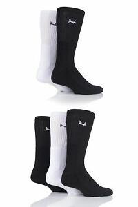 Mens 5 Pair Pringle Half Cushioned Sports Socks