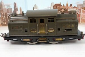 Vintage Prewar Lionel Standard Gauge No.318 Dark Gray Electric Engine