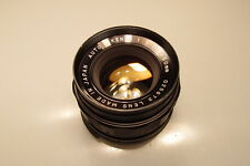 AUTO RIKENON 50mm 1:1.7 m42 SCREW MOUNT PRIME LENS EXCELLENT+++