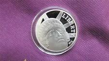 SUPERB SILVER PLATED 2013 LIBERTY  PROOF MEDAL 38MM