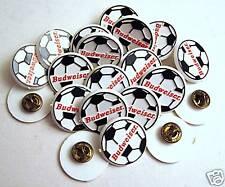 100 Budweiser Soccer Ball An Busch Beer Hat Pins