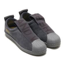 Neu Adidas Original Womens Superstar BW3S Slip On CG3695 Grau sneaker Gr:38