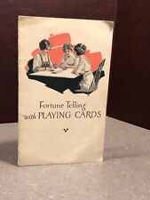 Fortune Telling With Playing Cards 1921
