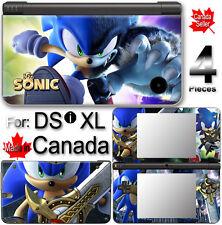 SONIC SKIN COVER COVER STICKER #2 for Nintendo DSi XL