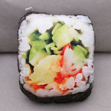 1 Pc Sushi Pillow Soft Throw Pillow Funny Cushion for Bar Home