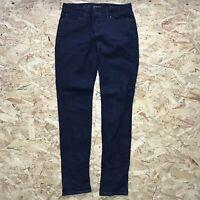 Ladies Blue Levi's Demi Curve Skinny Denim Jeans Low Rise W27 L30
