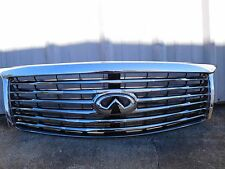 2011 2012 2013 INFINITI QX56 FRONT GRILL GRILLE WITH CAMERA 623101LA0A OEM