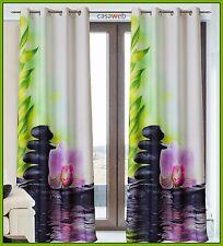 Tende Arredamento Casa a pannello Tendaggi per Finestra confezionate anelli zen