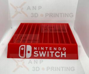 Nintendo Switch Game Case Holder