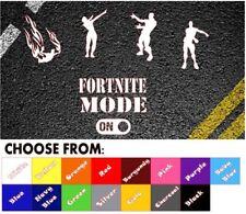 Fortnite Mini selección Pegatina de Coche Divertido Juego de PC portátil calcomanías Autoadhesivos Xbox PS4