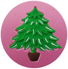 Christmas Tree on Strand Silicone Mold - Fondant, Chocolate, Crafts