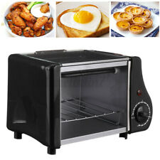 Mini 1.5L Toaster oven Tabletop Cooking Pan Baking Portable Oven 220W Compact