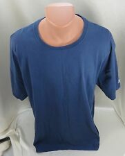 Russell Athletic T Shirt Short Sleeve Blue Size XXL - Extra Extra Large