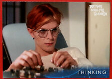 DAVID BOWIE - The Man Who Fell To Earth - Card #28 - Thinking - Unstoppable