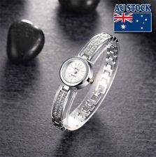 Luxury Women Diamond Bling Crystal Band Quartz Analog Wrist Watch