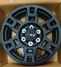 """Complete Set (4) 17"""" Black TRD Pro Wheel Toyota Tacoma, 4Runner, & FJ Cruiser"""