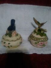 Heritage House Sing A Song Music Box's. Lot of 2 good condition.